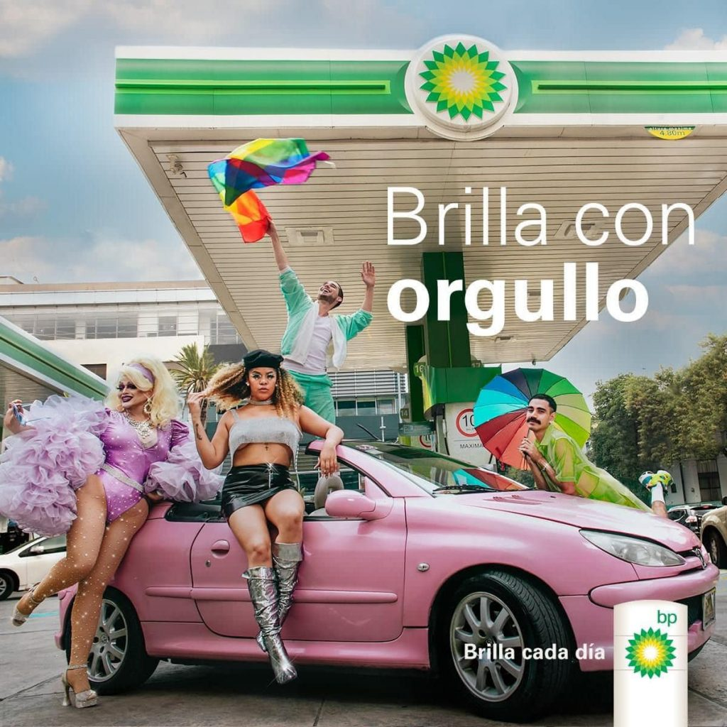 Marca gasolina BP